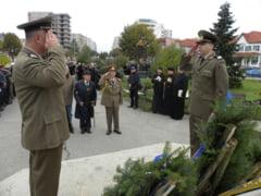 Americanii de la Deveselu, alaturi de autoritatile slatinene la sarbatorirea Zilei Armatei