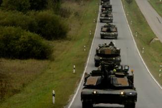 Americanii vor sa-si aduca tancurile in Romania, ca sa nu faca mai multe drumuri