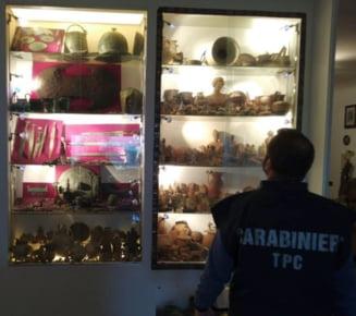 Ampla operatiune impotriva contrabandei cu artefacte arheologice in Europa: 23 de arestari, circa 10.000 de artefacte confiscate