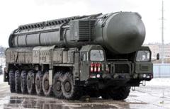 Ample exercitii militare cu rachete intercontinentale inainte de alegerile prezidentiale din Rusia