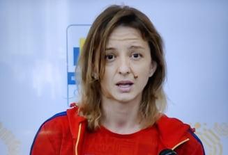 """Ana Maria Popescu, declarații tari la sosirea în România. Mesaj în direct către ministrul Sportului: """"Credeam că mă așteptați cu cecul ăla de 5 milioane"""""""
