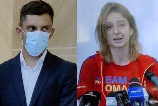 """Ana Maria Popescu, mesaj pentru ministrul Sportului: """"Să luați dumneavoastră aurul!"""" Când va concura Eduard Novak pentru medalie"""