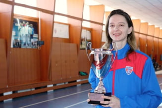 Ana Maria Popescu, pentru a patra oara castigatorea Cupei Mondiale la spada
