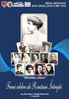 Ana Pauker se numara printre femeile celebrate de CJ Vaslui la un simpozion stiintific (Foto)