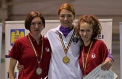 Anamaria Ionita a cucerit doua medalii de aur la nationalele universitare