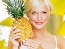 Ananasul, bun pentru oase si sistemul nervos