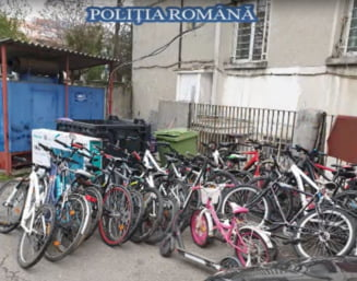 "Ancheta ""rulota pradata de doua ori"" i-a dus pe politisti la hotii a 15 biciclete"
