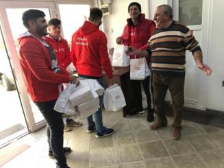 Ancheta penala in cazul angajatilor Primariei Sectorului 5 care imparteau pachete cu alimente si pliante electorale UPDATE Reactia primarului