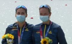 """Ancuța Bodnar, medaliată cu aur la JO 2020: """"Au fost doi ani de muncă fără pauză"""". Cum s-au antrenat canotoarele în pandemie"""