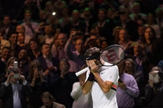 Andre Agassi il felicita pe Roger Federer, dupa ce elvetianul i-a doborat un record impresionant
