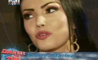 Andreea Mantea si-a lipit sanii cu scotch la Dansez pentru tine (VIDEO)