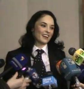 Andreea Marin Banica s-a intalnit cu presedintele Republicii Moldova