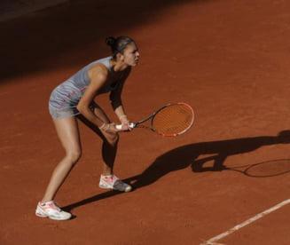 Andreea Mitu, victorie fabuloasa la Roland Garros: S-a calificat in optimi!