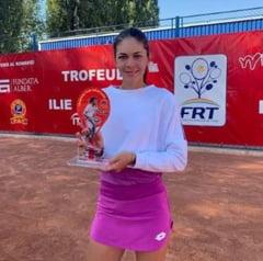 Andreea Mitu si Dan Tomescu, noii campioni ai Romaniei la tenis