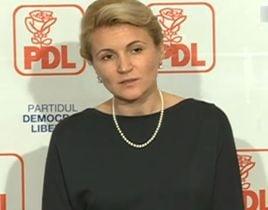 Andreea Paul: Am semnat motiunea lui Vasile Blaga