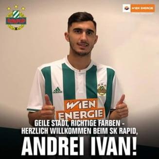 Andrei Ivan a fost imprumutat de Krasnodar in Austria - oficial