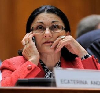 Andronescu a modificat Legea Educatiei - a eliminat incompatibilitati care o vizau