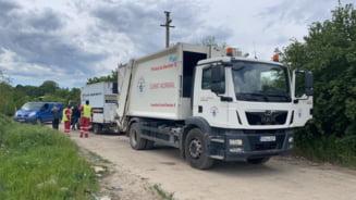 Angajati ai Salubrizare Sector 5, demisi dupa ce au folosit gunoiera companiei pentru colectarea de deseuri din Jilava