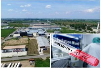Angajati confirmati cu coronavirus in parcul industrial de pe Borsului