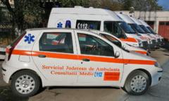 Angajatii Serviciul de Ambulanta Judetean Galati au protestat