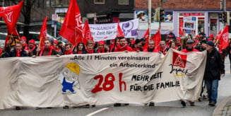 Angajatii germani vor mai multi bani si program mai scurt. Ar putea da tonul la nivel global?