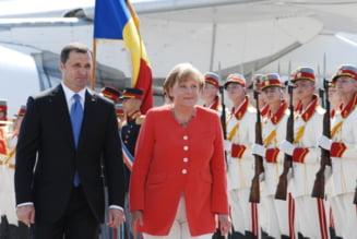 Angela Merkel, la Chisinau - viziune comuna asupra conflictului transnistrean
