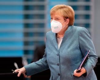 Angela Merkel cere noi restrictii in Germania, in perioada sarbatorilor. Scolile si magazinele nealimentare ar putea fi inchise