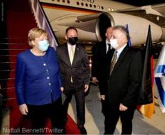 Angela Merkel merge în Israel pentru turneul său de rămas-bun, după 16 ani la putere