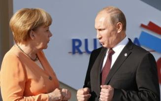 Angela Merkel merge in Ucraina - vrea sa obtina incetarea focului