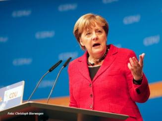 Angela Merkel respinge propunerea lui Martin Schulz privind crearea Statelor Unite ale Europei