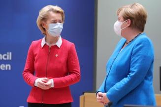 Angela Merkel si Ursula von der Leyen se opun reinchiderii frontierelor in Uniunea Europeana