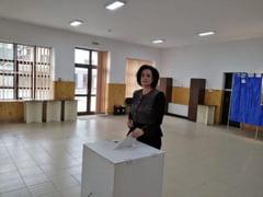 "Angelica Fador:""""Am votat pentru o Romanie libera si prospera"""""