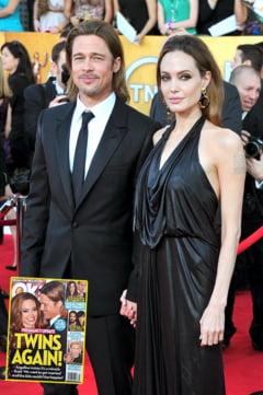 Angelina Jolie, insarcinata cu gemeni, din nou