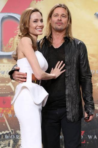 Angelina Jolie a implinit 38 de ani - ce cadou i-a facut Brad Pitt