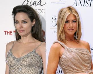Angelina Jolie ii strica linistea lui Jennifer Aniston