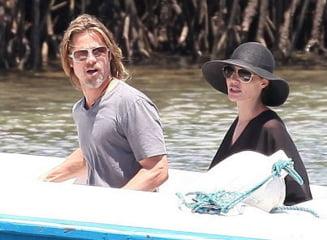 Angelina Jolie si Brad Pitt - cum arata o vacanta cu sase copii (Galerie foto)