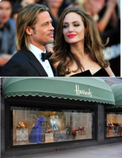 Angelina Jolie si Brad Pitt, la cumparaturi - factura de 12.000 de euro