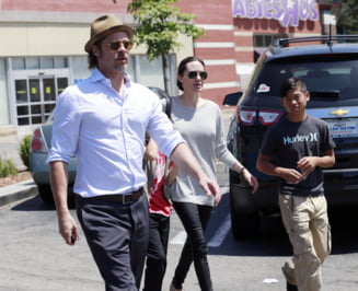 Angelina Jolie si Brad Pitt au starnit mania vecinilor: Ne considera niste tarani