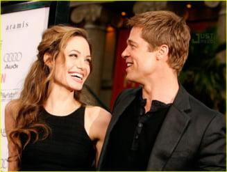 Angelina Jolie si Brad Pitt s-au casatorit in secret?