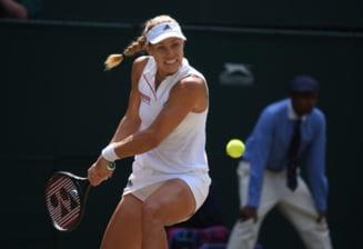 Angelique Kerber a invins-o cu usurinta pe Jelena Ostapenko si va disputa finala la Wimbledon