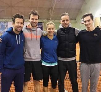 Angelique Kerber a renascut de cand a inceput colaborarea cu fostul antrenor al Simonei Halep