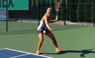 Angelique Kerber a urmarit-o la antrenament pe Sharapova inaintea meciului cu Simona Halep - ce a remarcat