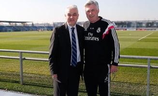 Anghel Iordanescu, la Real Madrid: Iata de ce primire a avut parte