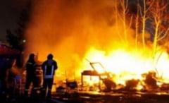 Animale moarte intr-un incendiu din Costisa