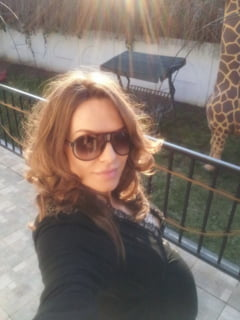 Anna Lesko, aparitie senzationala in lenjerie intima in luna a opta de sarcina (Foto)