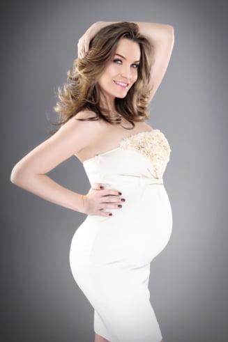 Anna Lesko, in a opta luna de sarcina - Acum nici nu vreau sa-l vad!