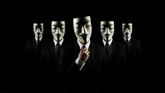 Anonymous a lansat un atac masiv impotriva Israelului