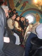 """Ansamblul artistic """"Magura Sieului"""" al Caminului Cultural Sieu, la sfarsitul sarbatorilor de iarna si la inceputul noului an 2013."""