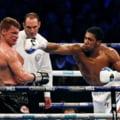 Anthony Joshua l-a facut KO pe Alexander Povetkin (Video)