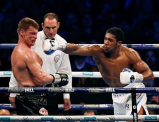 Anthony Joshua l-a facut KO pe Alexander Povetkin (Video)